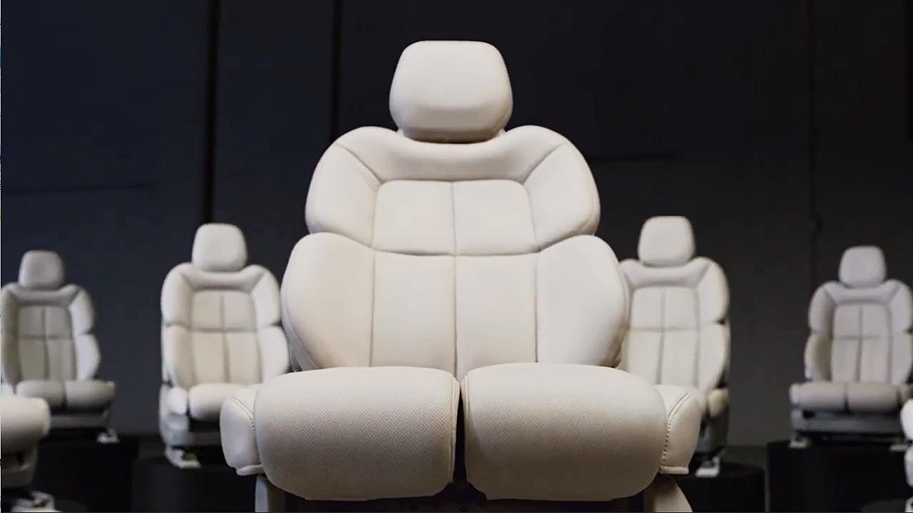 2017款林肯大陆 纯正的苏格兰工艺座椅