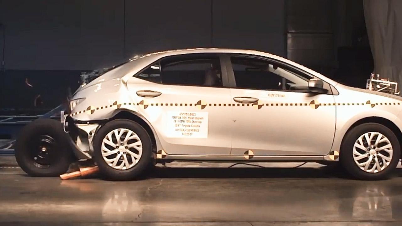 2017款丰田卡罗拉 NHTSA后侧碰撞测试-一汽丰田汽车报价 图片 2017高清图片