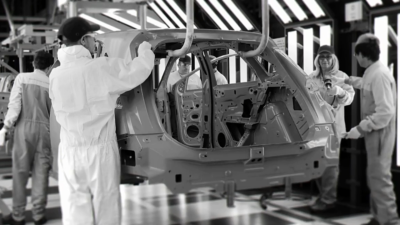 探秘工厂 DS7 Crossback生产过程曝光