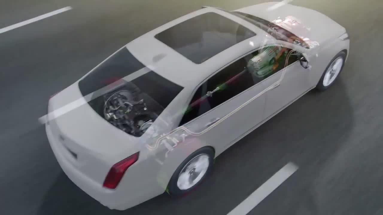 凯迪拉克CT6混动版 搭载EVT变速箱