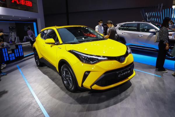 丰田C-HR优惠高达0.5万元